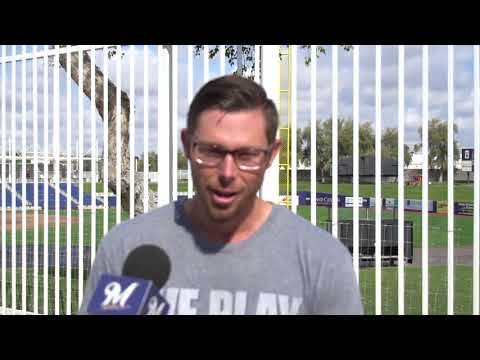 Eric Sogard talks about how spring training has gone