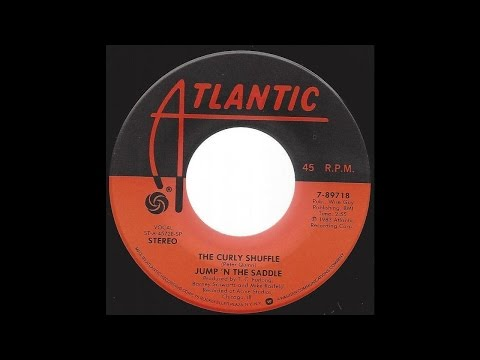 Jump 'N The Saddle Band - The Curly Shuffle - '83 Pop Novelty Classic on Atlantic label