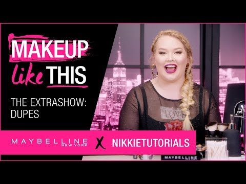 Extra Show 4: Make Dupes Happen   Maybelline New York