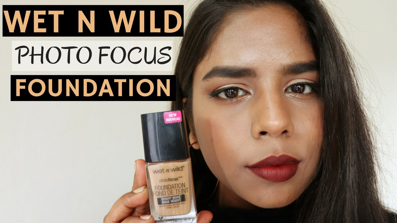Wet and wild photo focus foundation review