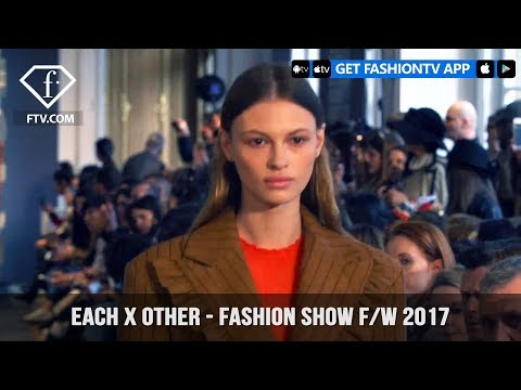 Each X Other Sparks All Around in F/W 2017 Collection Fashion Show in Paris | FashionTV | FTV
