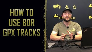 How to download BDR GPX tracks…