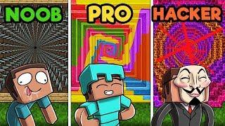 - Minecraft NOOB vs. PRO vs. HACKER Ultimate Dropper Challenge