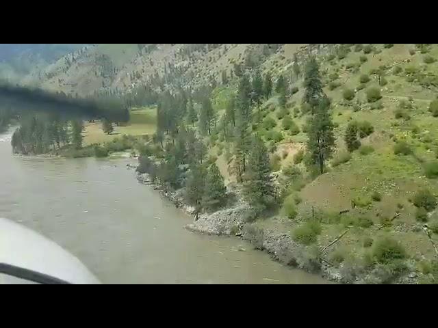 PART2 final landing at wilson bar airstrip in a C182