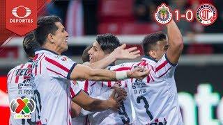 Resumen Chivas 1 - 0 Toluca | Clausura 2019 - Jornada 3 | Televisa Deportes