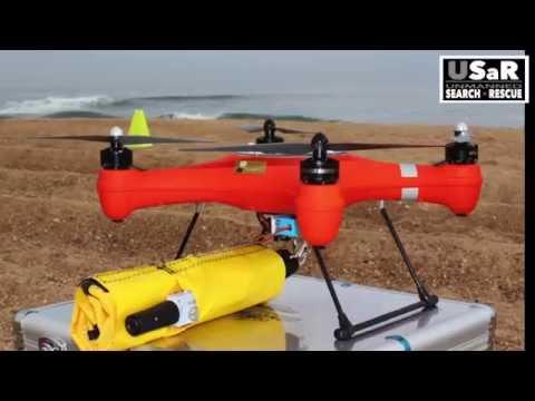 USaR - Drone étanche et bouée automatique