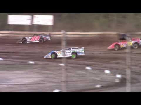 Hummingbird Speedway (9-7-19): BWP Bats Super Late Model Heat Race #3