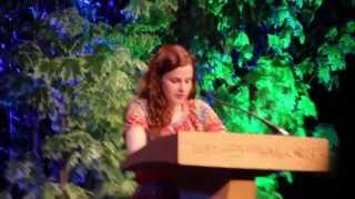 Louise Brealey reads a letter from Eudora Welty - Hay Festival