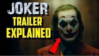 Joker (2019) Trailer Explained And Breakdown Video