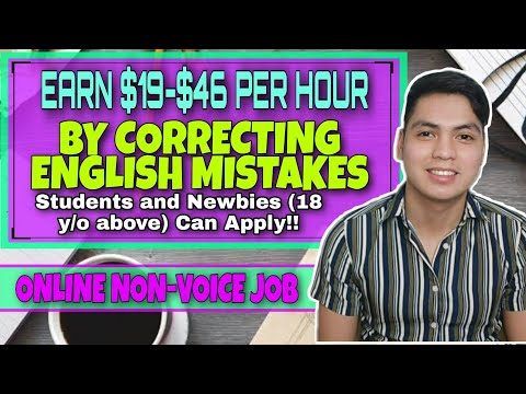 Earn Up To $46 Per Hour By Correcting English Mistakes Online | Proofreading Jobs