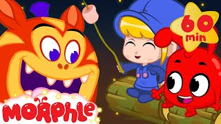 The Spooky Camping Trip - Mila and Morphle's Cartoons for Kids | Morphle TV
