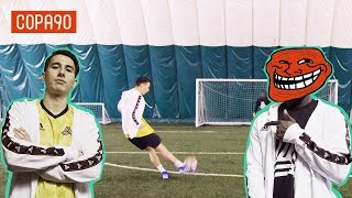YouTube Footballer Takes On His Hater | Timbsy v the Trolls #Ad