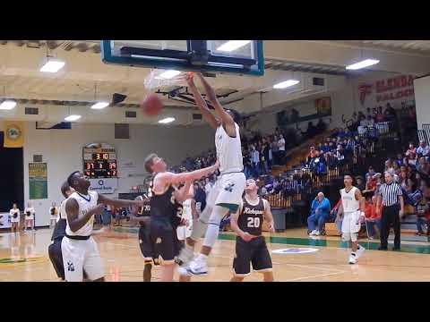 Tyem Freeman's ten dunks @ 2017 Arvest Classic