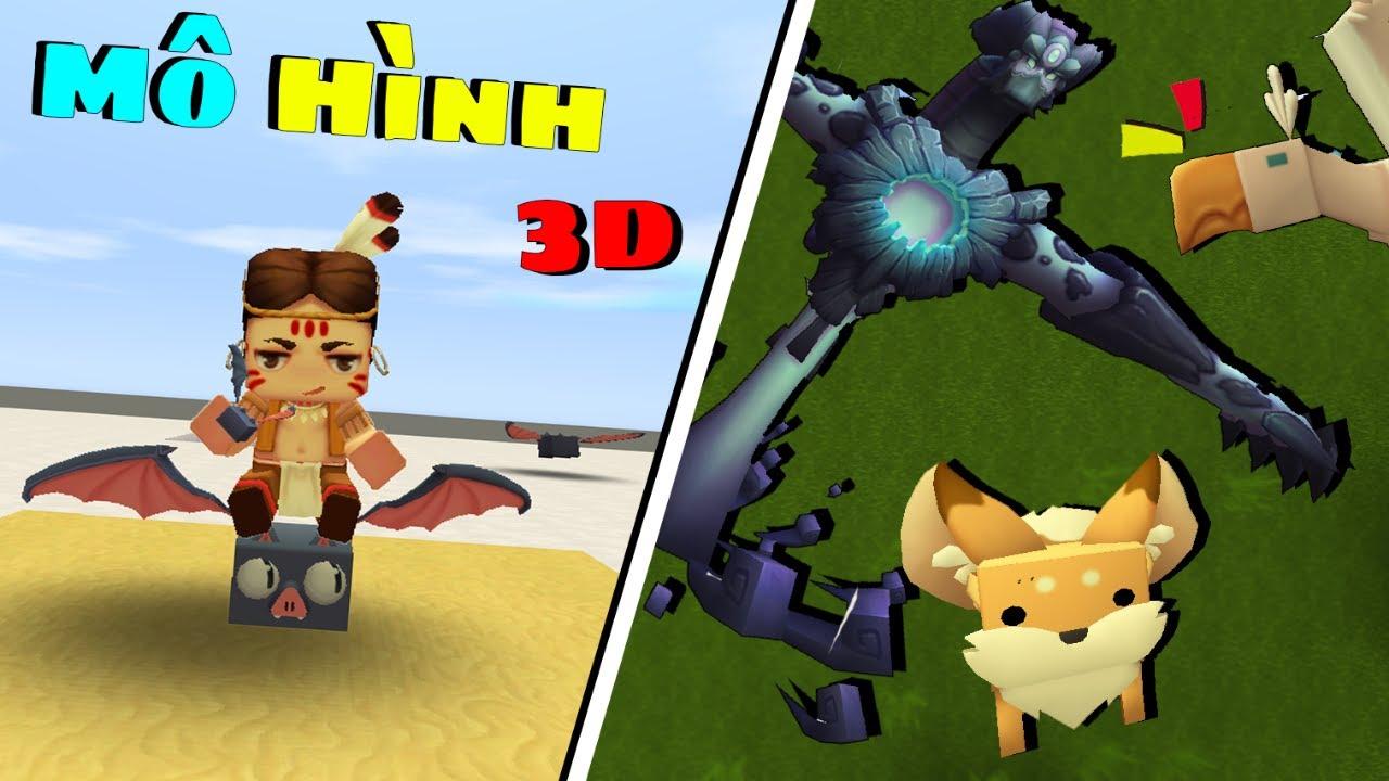 Tải Maps Mô Hình 3D trong Mini World