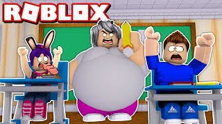 OUR FIRST DAY AT the ROBLOX SCHOOL