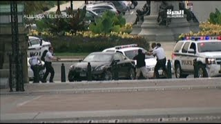 Capitol Shooting Car Chase: Dramatic Video
