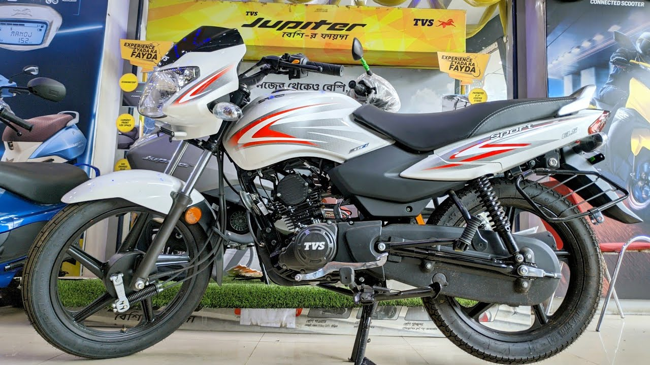 New TVS Sport BS6 Review in Hindi! Under-rated 110cc Mileage bike?? New Updates & Details