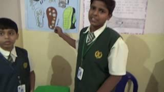Piezo Electricity in Shoe || Science Exhibition ||