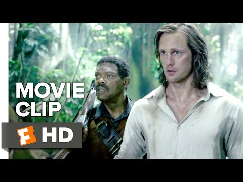 The Legend of Tarzan Movie CLIP - Tarzan Fights Akut (2016) - Alexander Skarsgård Movie HD