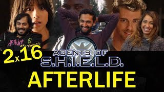 Agents of Shield - 2x16 Afterlife - Group Reaction