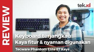 Tecware Phantom Elite, keyboard TKL Rp800 ribuan