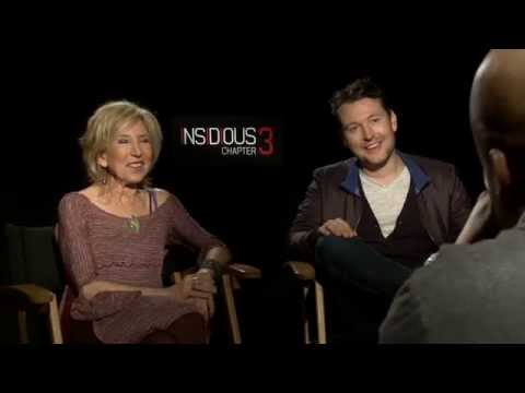 Insidious 3 -  Leigh Whannell and Lin Shaye Interview