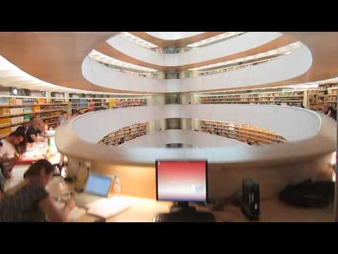 Zurich University Law Library by Calatrava