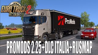 Gameplay EURO TRUCK SIMULATOR 2 | DIRECTO | PROMODS 2.25+ITALIA+RUSMAP | ESPAÑOL | PC 1080P
