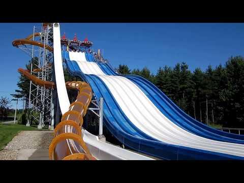 Calypso Waterpark Ottawa VERTIGO ADRENALINE SLIDES