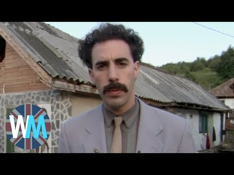 Top 10 WTF Sacha Baron Cohen Moments