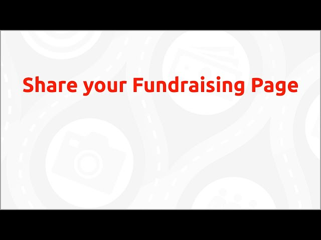 Sharing Your Fundraising Page