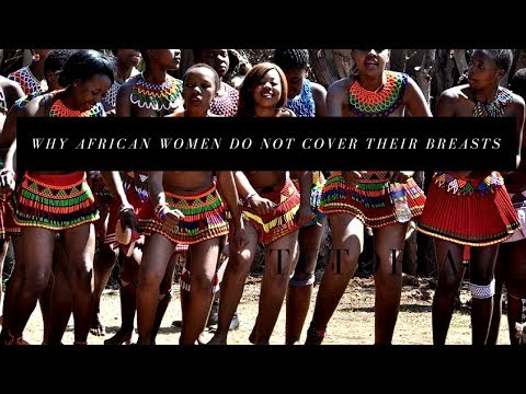 Why Don't African Women Cover Their Breasts | Taboo | #Breasts | Family Vlog