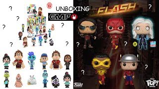 *UNBOXING EMP!!! Funko Pop (The Flash) & Mistery Minis (Ralph Spacca Internet)!