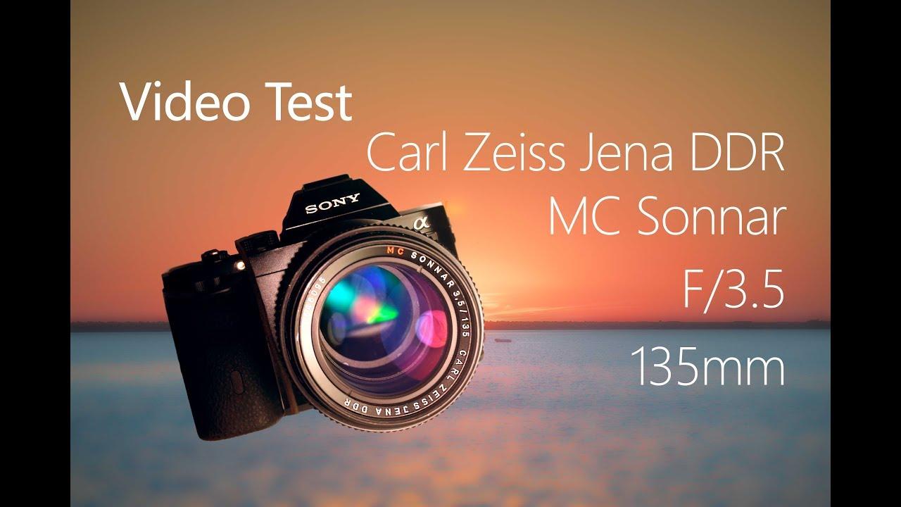 Video Test - Carl Zeiss Jena 135mm 3 5 MC mounted on Sony a7