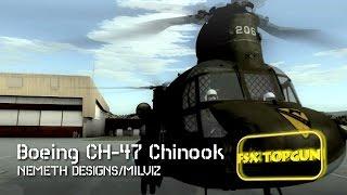 FSX Nemeth Design Boeing CH-47 Chinook