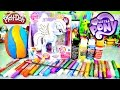 Play Doh Egg Surprise | Custom My Little Pony Rainbow Dash Design A Pony With Dctc video