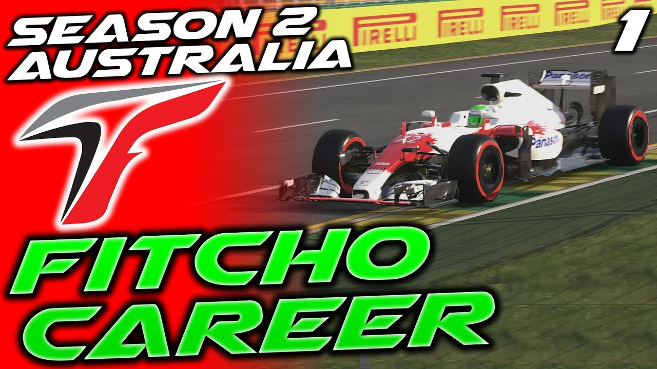 F1 2016 Toyota Career 1 Australia Are Back Fitcho S2
