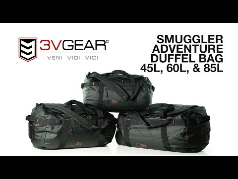 Smuggler Adventure Duffel Bag By 3V Gear