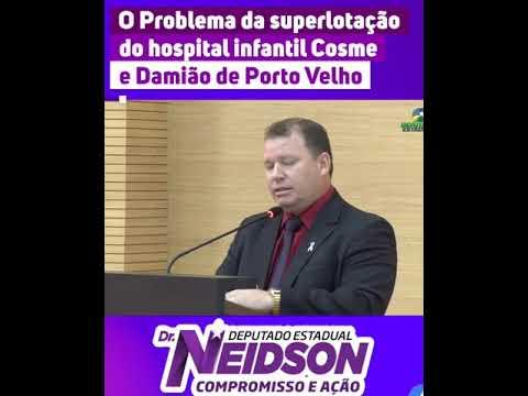 Vídeo: O problema da superlotação do Hospital Infantil Cosme e Damião de Porto Velho