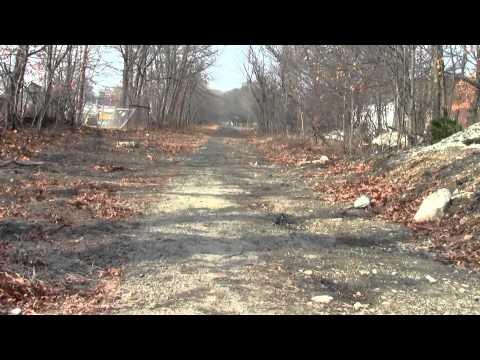 Bay Colony Railroad Newton MA Upper Falls Greenway Part 2.