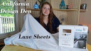 California Design Den Luxe🌺 100% Cotton Sheets (600 Thread Count) TWIN XL👈