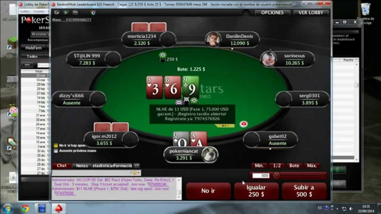Freeroll PaГџword Pokerstars