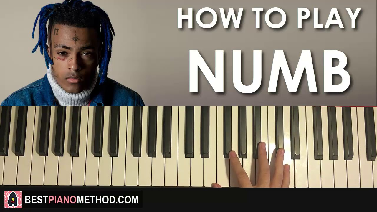 HOW TO PLAY - XXXTENTACION - NUMB (Piano Tutorial Lesson)