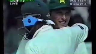 Pakistan v India at Toronto 4th ODI 1998 | Afridi