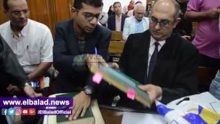 خالد علي يستعين بـ'تاريخ البحرية المصرية' لإثبات مصرية الجزيرتين.. فيديو