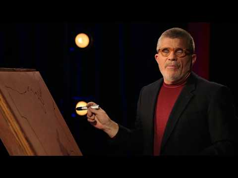 David Mamet Flawlessly Draws a Map of the Contiguous United States from Memory