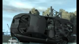 Фото с обложки Краш-Тест 4 Автомобилей В Gta 4