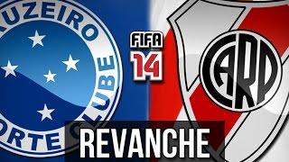 Cruzeiro x River Plate - Nova Revanche - FIFA 14 [PS4]