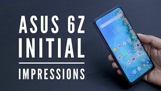 ASUS 6Z Initial Impressions Unboxing