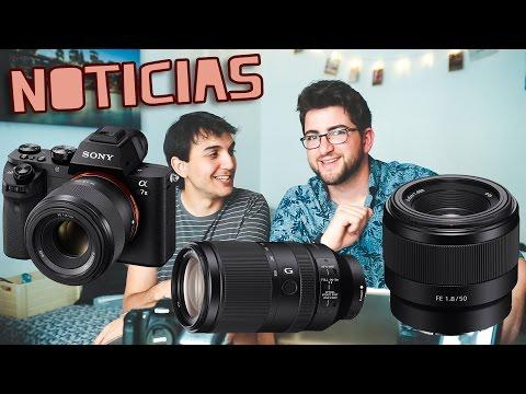 Sony FE 50mm 1.8 y 70-300mm, SIGMA 24-70 art -NOTICIAS-